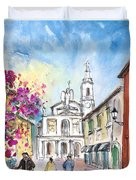 Bergamo Lower Town 01 Duvet Cover