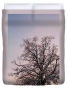 Bergen  Winter Tree Duvet Cover by Hakon Soreide