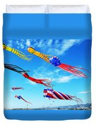 Berkeley Kite Festival 1 Duvet Cover