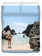 Bermuda Bikini Duvet Cover