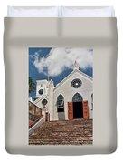 Bermuda Church Duvet Cover
