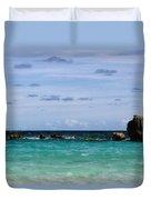 Bermuda Skies Duvet Cover