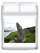Bernera Stone Near Water Duvet Cover