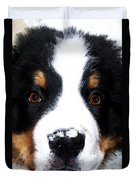 Bernese Mountain Dog - Baby It's Cold Outside Duvet Cover