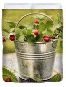 Berries Duvet Cover by Darren Fisher