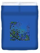 Berry Sky Magic By Jrr Duvet Cover