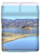 Berryessa Lake Duvet Cover