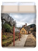 Berwyn Station Duvet Cover