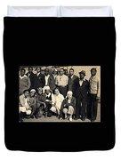 Bessie Coleman Aero Club Duvet Cover