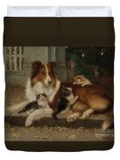 Best Of Friends Duvet Cover