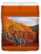 Best View In Town  Duvet Cover