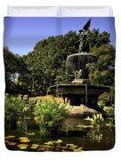 Bethesda Fountain - Central Park 2 Duvet Cover