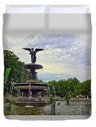 Bethesda Fountain II Duvet Cover