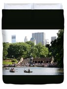 Bethesda Terrace And Fountian Nyc Duvet Cover
