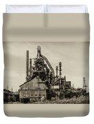 Bethlehem Pa Steel Plant   Duvet Cover