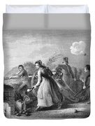 Betsy Doyle A Soldiers Wife Helping Duvet Cover