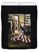 Betsy Ross (1752-1836) Duvet Cover