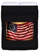 Betsy Ross Flag Duvet Cover