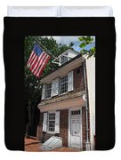 Betsy Ross House Duvet Cover
