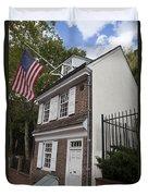 Betsy Ross House Philadelphia Pennsylvania Duvet Cover