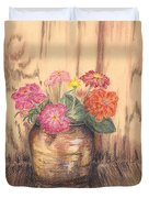 Betsy's Flowers 2 Duvet Cover