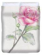 Betsy's Rose Duvet Cover