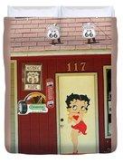 Betty Boop 2 Duvet Cover