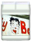 Betty Boop Herself Duvet Cover