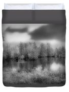 Between Black And White-24 Duvet Cover