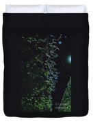 Between The Hedges  Duvet Cover by First Star Art