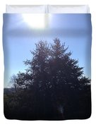 Between These Trees Duvet Cover