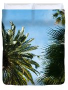 Beverly Palms Duvet Cover