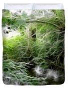 Phallic In The Grass Duvet Cover