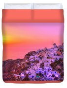 Bewitched Sunset Duvet Cover