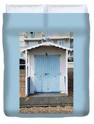 Bexhill Beach Hut Duvet Cover