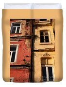 Beyoglu Old Houses 02 Duvet Cover