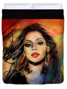 Beyonce Duvet Cover by Mark Ashkenazi