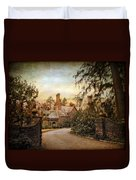 Beyond The Gates Duvet Cover by Jessica Jenney