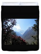 Beyond The Rhododendrons 2 Duvet Cover