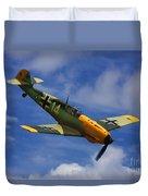 Bf 109 Messerschmitt  Duvet Cover