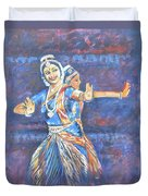 Bharatha Naatyam Duvet Cover