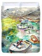 Biarritz 17 Bis Duvet Cover