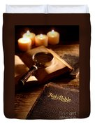 Bible Study Duvet Cover
