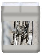 Bicycle Cassette Duvet Cover