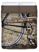 Bicycle Gears Duvet Cover
