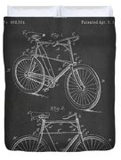 Bicycle Patent Duvet Cover