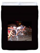 Bicycle Race By Jan Marvin Duvet Cover
