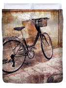 Bicycle Revisited Duvet Cover