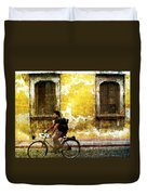 Bicycle Textures Duvet Cover