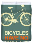 Bicycles Have No Walls Poster 3 Duvet Cover
